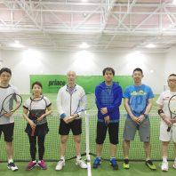 春テニス、はじめませんか?  今なら、ラケットもシューズももらえる!!