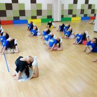 チアダンスで柔軟性もしっかり身に付けています!