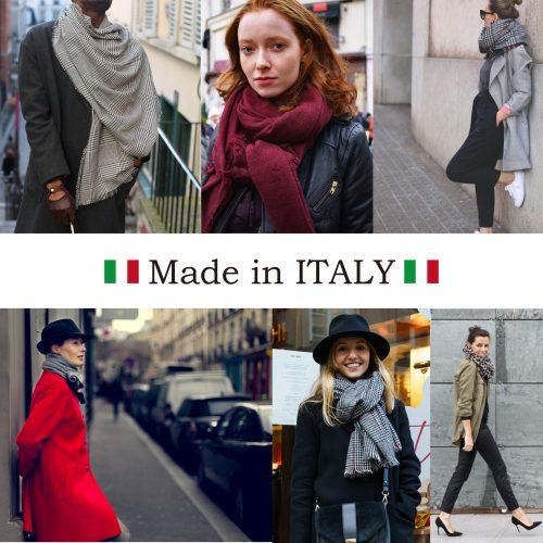 イタリアからストールが入荷しました